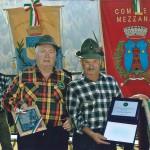 Gemellaggio del gruppo di Lignano con il Gruppo trentino di Mezzana, per l'occasione erano presenti anche i sindaci delle due città.